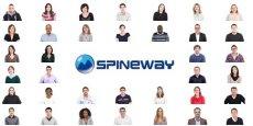 Capture d'écran du site web de Spineway