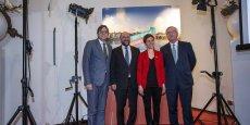 Le conservateur Jean-Claude Juncker, le socialiste Martin Schulz, l'écologiste Ska Keller et le libéral Guy Verhofstadt, candidats à la succession de José Manuel Barroso ont tenu lundi leur premier débat télévisé. Reuters