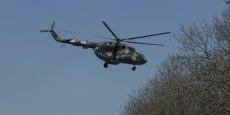 Le maire pro-russe autoproclamé de la ville, a déclaré que deux hélicoptères des forces de sécurité avaient été abattus. Reuters