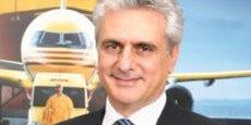 Michel Akavi, PDG de DHL Express, qui emploie 1 744 employés et revendique 27 000 clients.