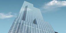 Le gratte-ciel One57, situé au sud de Central Park, conçu par l'architecte français Christian de Portzamparc et surnommé l'« immeuble des milliardaires ». Outre le palace Park Hyatt, il contient un peu moins d'une centaine d'appartements de grand luxe.