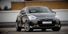 La Citroën DS5, 73ème voiture la plus vendue en France