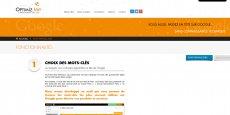Capture d'écran du site Optimiz.me © DR