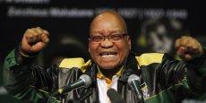 Le président Jacob Zuma a pour beaucoup du sang sur les mains depuis que sa police a ouvert le feu sur des grévistes à la mine de Marikana (nord) en août 2012, faisant 34 morts. Ce qui devrait faire perdre du terrain à son parti, l'ANC. REUTERS/Siphiwe Sibeko