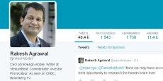 Rakesh Agrawal présenté sa démission avec un préavis de deux semaines. Il dit d'ailleurs qu'il n'avait eu aucun retour de sa hiérarchie, jusqu'au fameux tweet.
