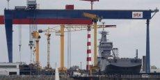 La diffusion de la fameuse plaquette s'inscrit dans la poursuite du processus de vente initié par KDB, selon Pierre Morel, délégué syndical CFDT sur le chantier de Saint-Nazaire. (Photo : Reuters)