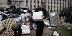 En Ukraine, les séparatistes s'apprêtent à tenir dimanche un référendum sur l'indépendance des républiques populaires autoproclamées de Donetsk et de Lougansk, frontalières de la Russie. REUTERS.