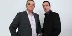 Guillaume Lebret et Guillaume Denis, deux des co-fondateurs de TrenCube © Rémi Benoit