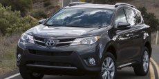 Le RAV4 de Toyota est importé du Japon