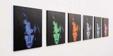Six Self Portraits (Six auto-portraits) a été achevé une année avant la mort du peintre, survenue d'une manière inattendue le 22 février 1987, après une opération chirurgicale. (Photos: Sotheby's)