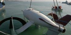 Cette V3 du prototype de l'hydrolienne a été testée dans la lagune de Venise, en 2013