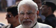 Narendra Modi, premier ministre de l'Inde depuis le mai 2014