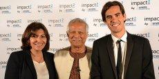 Anne Hidalgo, Muhammad Yunus, Nicolas Hazard