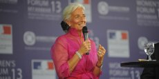 Christine Lagarde au Women's Forum