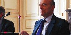 Alain Juppé le 26 mai 2014