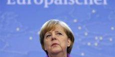 Angela Merkel doit désormais agir. / Reuters