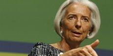 Selon Reuters, Angela Merkel aurait demandé à François Hollande s'il souhaitait soutenir la candidature de Christine Lagarde à la présidence de la Commission européenne. | REUTERS