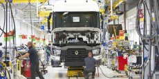 Production de camions Renault Trucks en France