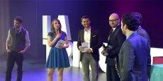 Ce soir, six jeunes entrepreneurs ont reçu le Prix La Tribune Jeune Entrepreneur. / DR