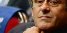 Michel Platini, président de l'UEFA