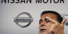 Carlos Ghosn, PDG de Nissan et Renault