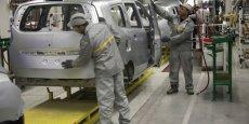 La production manufacturière a reculé de 16% depuis 2007. /Reuters
