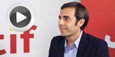 Mathieu Llorens, DG d'AT Internet, répondant aux questions de La Tribune - Objectif Aquitaine