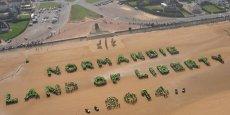 6 juin 2014 : commémoration du Débarquement du 6 juin 1944, en Normandie - cette journée commémorative, rendez-vous international, rassemblera 17 chefs d'État et de gouvernement et près de 1.000 vétérans dont 150 français. / Reuters