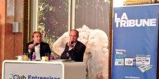 Charles Lantieri (à droite), directeur général délégué de la Française des Jeux (FDJ), était l'invité vendredi 6 juin du Club Entreprises de La Tribune et de la Chambre de commerce et d'industrie de Paris Ile-de-France. Au cours du débat, il a rappelé combien la Responsabilité sociale d'entreprise (RSE) était importante pour une activité aussi particulière que les jeux.