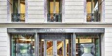 900 m2 de bijoux en diamants, or, platine et argent remplacent désormais les burgers à l'emplacement de l'ancien Quick sur les Champs Elysées. DR.