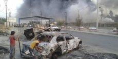 La ville de Mossoul a été la cible de violents combats mardi entre les forces de sécurité irakiennes et les extrémistes sunnites d'EIIL. /Reuters