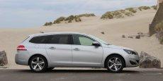 La version break de la 308 est à 120% des objectifs, selon Peugeot