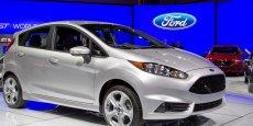 La petite Ford Fiesta est produite en Allemagne