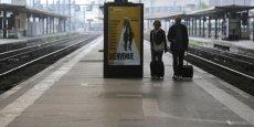 Le taux de participation à la grève dépassait en effet à peine les 14% lundi matin, contre près de 28% au premier jour, selon la direction de la SNCF. /Reuters