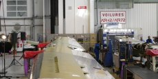 L'aéronautique (ici un atelier de la Sogerma à Mérignac) continue à progresser. Crédit : DR.