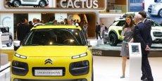La Citroën C4 Cactus est fabriquée près de Madrid.