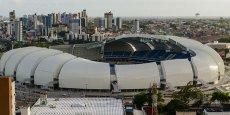 Le stade Das Duna situé dans la ville de Natal dans le Rio Grande. Serge Ferrari a construit une partie du toit. Crédits : Serge Ferrari