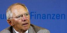 Le ministre des Finances allemand, Wolfgang Schäuble, prône la formation d'une armée européenne