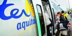 L'ex-Aquitaine se distingue par de meilleures performances du réseau TER en 2017.
