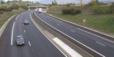 La mise en place en France d'un péage de transit poids lourds pourrait rapporter chaque année 550 M€ à l'Etat (photo Y.Petiteaux).