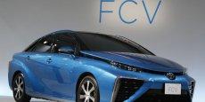 La future Toyota à pile à combustible FCV