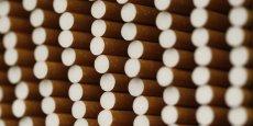 Le marché des cigarettes en France a enregistré a perdu 3,5% en valeur au premier trimestre. /Reuters