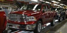 Usine nord-américain du Dodge Ram de Fiat Chrysler