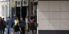 Des queues se formaient encore lundi matin devant les agences bancaires bulgares