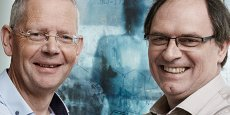 Dans la catégorie Industrie, ce sont le belge Koen Andries et le français Jérôme Guillemont qui ont reçu le prix de l'inventeur européen de l'année décerné par l'Office européen des brevets