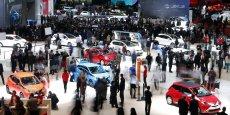 Le stand Toyota au dernier salon de Genève en mars 2014