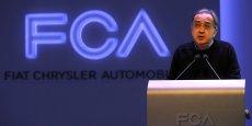 Sergio Marchionne, patron de Fiat Chrysler