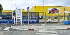 L'usine Ford Aquitaine Industries, à Blanquefort, ci-dessus, est liée à Getrag Ford Transmissions, à quelques dizaines de mètres.