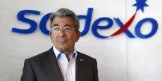 Michel Landel, directeur général de Sodexo confirme un objectif de progression du résultat opérationnel pour l'ensemble de l'exercice 2013-2014 de 11 % à  taux de change constant. (Photo : Reuters)