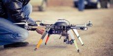 En 2014, le les ventes de drones représentaient 100 millions d'euros.